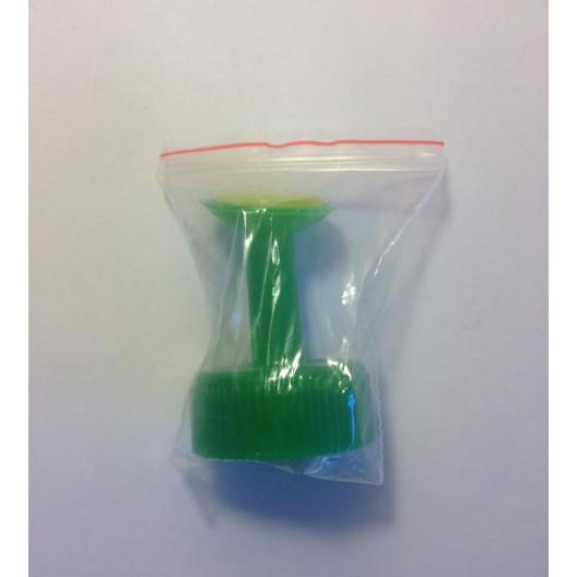 Насадка для полива зелёная